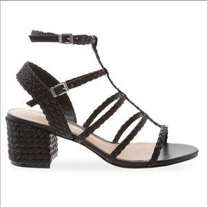 Schutz Rosalia Block Heel Sandal